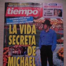 Coleccionismo de Revista Tiempo: TIEMPO Nº 592, 6 SEPT 1993. MICHAEL JACKSON, SHARON STONE, JUAN LUIS GUERRA, JOAQUÍN LEGUINA,RESINES. Lote 220897855
