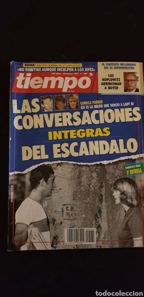 REVISTA TIEMPO N° 560. 25 DE ENERO DE 1993 (Coleccionismo - Revistas y Periódicos Modernos (a partir de 1.940) - Revista Tiempo)