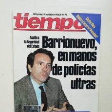 Coleccionismo de Revista Tiempo: TIEMPO. Lote 223242392