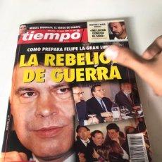 Coleccionismo de Revista Tiempo: TIEMPO. Lote 224500476