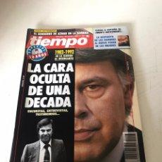 Coleccionismo de Revista Tiempo: TIEMPO. Lote 224522186
