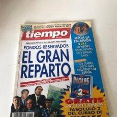 Coleccionismo de Revista Tiempo: TIEMPO. Lote 224524215