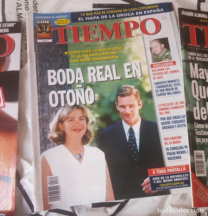 Coleccionismo de Revista Tiempo: LOTE 10 EXTRAS y OTRAS REVISTA TIEMPO - AÑOS 90 - Foto 11 - 190013627