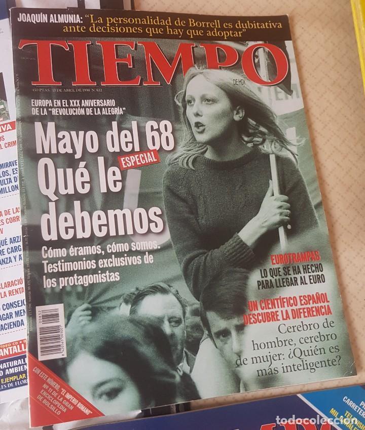 Coleccionismo de Revista Tiempo: LOTE 10 EXTRAS y OTRAS REVISTA TIEMPO - AÑOS 90 - Foto 12 - 190013627