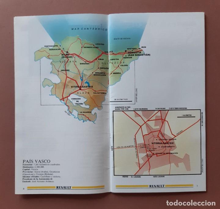 Coleccionismo de Revista Tiempo: GUÍA TURISMO 4 PAIS VASCO. ESPAÑA DE LA A A LA Z. TIEMPO. RENAULT. 1989. - Foto 2 - 235985980