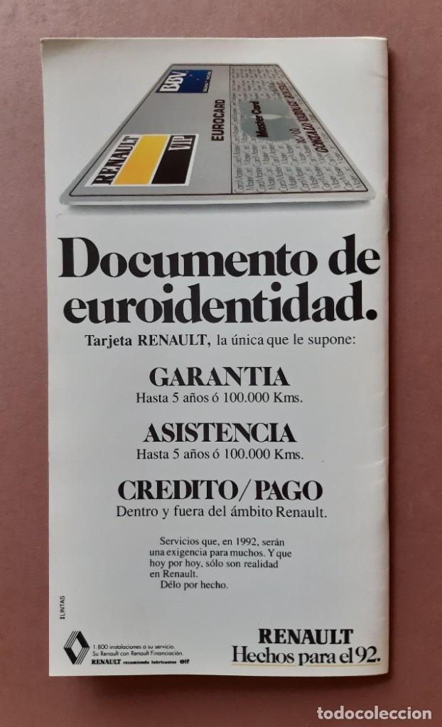 Coleccionismo de Revista Tiempo: GUÍA TURISMO 4 PAIS VASCO. ESPAÑA DE LA A A LA Z. TIEMPO. RENAULT. 1989. - Foto 4 - 235985980