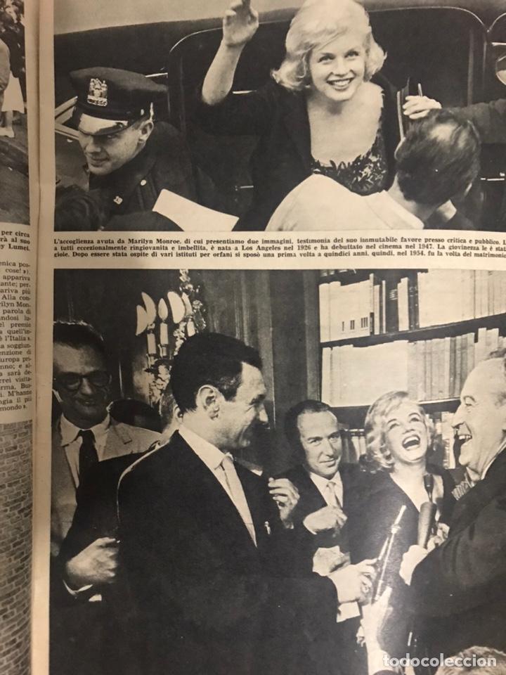 Coleccionismo de Revista Tiempo: REVISTA TEMPO 1959 NUMERO 22 AÑO XXI MILAN PORTADA ROSSANA ROSSANIGO MARILYN MONROE TIEMPO ITALIANA - Foto 2 - 238150430
