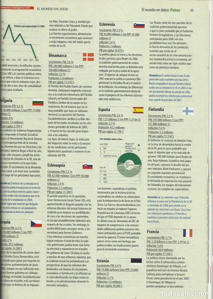 Coleccionismo de Revista Tiempo: EL MUNDO EN 2006 - Foto 2 - 238803085