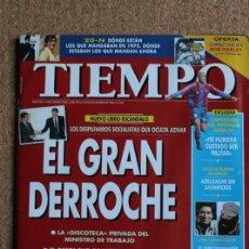 Coleccionismo de Revista Tiempo: REVISTA TIEMPO. N. 760. 25 DE NOVIEMBRE DE 1196. EL GRAN DERROCHE. Lote 240819915