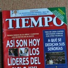 Coleccionismo de Revista Tiempo: REVISTA TIEMPO. N. 756. 28 DE NOVIEMBRE DE 1196. ASI SON HOY LOS LIDERES DEL SIGLO XXL. Lote 240821880