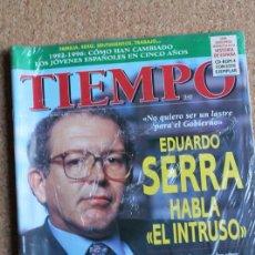 Coleccionismo de Revista Tiempo: REVISTA TIEMPO. N. 755. 21 DE OCTUBRE DE 1196. EDUARDO SERRA HABLA EL INTRUSO. Lote 240822420