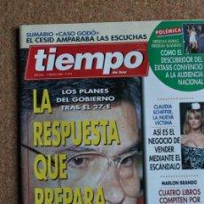 Coleccionismo de Revista Tiempo: REVISTA TIEMPO. N. 614. 7 DE FEBRERO DE 1994. LA RESPUESTA QUE PREPARA FELIPE. Lote 240827820