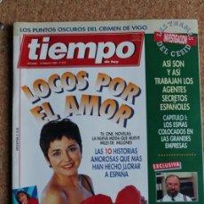 Coleccionismo de Revista Tiempo: REVISTA TIEMPO. N. 615. 14 DE FEBRERO DE 1994. LOCOS POR EL AMOR. Lote 240828495