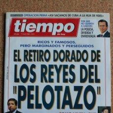 Coleccionismo de Revista Tiempo: REVISTA TIEMPO. N. 611. 17 DE ENERO DE 1994. LOS REYES DEL PELOTAZO. Lote 240830940