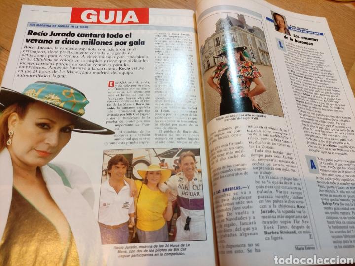 Coleccionismo de Revista Tiempo: Revista Tiempo 1988 Ana Belén, Rocío Jurado, Mecano, Sabrina Salerno, La duquesa de Alba - Foto 4 - 242919595