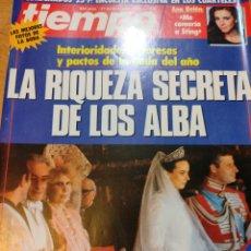 Coleccionismo de Revista Tiempo: REVISTA TIEMPO 1988 ANA BELÉN, ROCÍO JURADO, MECANO, SABRINA SALERNO, LA DUQUESA DE ALBA. Lote 242919595