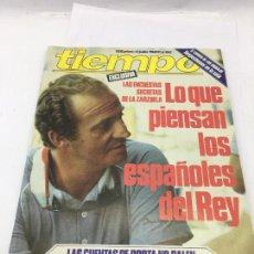 Coleccionismo de Revista Tiempo: REVISTA TIEMPO Nº 60 - 4 JULIO 1983 - LO QUE PIENSAN DEL REY - LAS CUENTAS DE PORTA NO SALEN. Lote 246630515