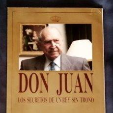 Coleccionismo de Revista Tiempo: DON JUAN LOS SECRETOS DE UN REY SIN TRONO. Lote 253698550
