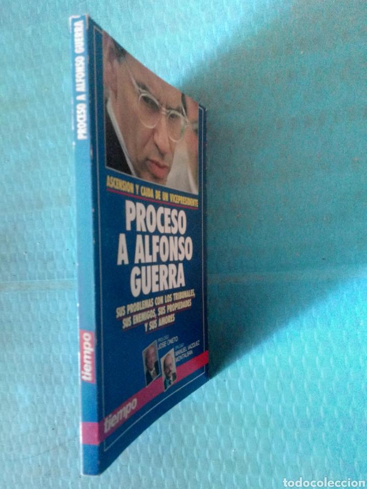 Coleccionismo de Revista Tiempo: PROCESO A ALFONSO GUERRA, EDICIONES TIEMPO 1991, ASCENSIÓN Y CAÍDA DE UN VICEPRESIDENTE. - Foto 2 - 254784390