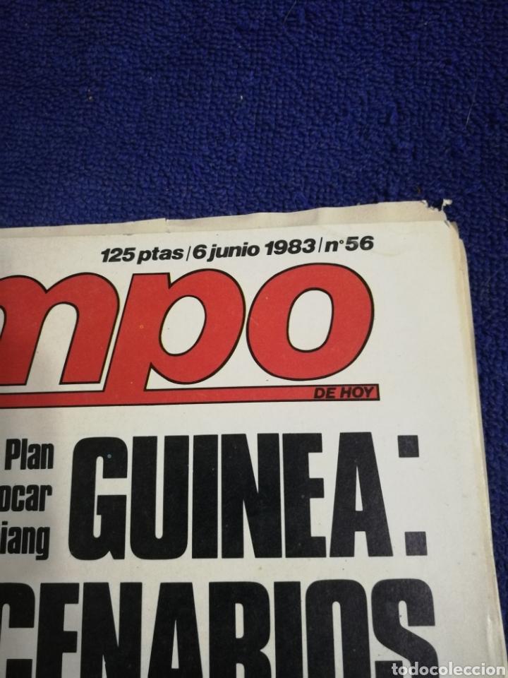 Coleccionismo de Revista Tiempo: Tiempo. Numero 56. Mercenarios - Foto 2 - 257393390