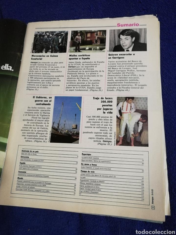 Coleccionismo de Revista Tiempo: Tiempo. Numero 56. Mercenarios - Foto 4 - 257393390