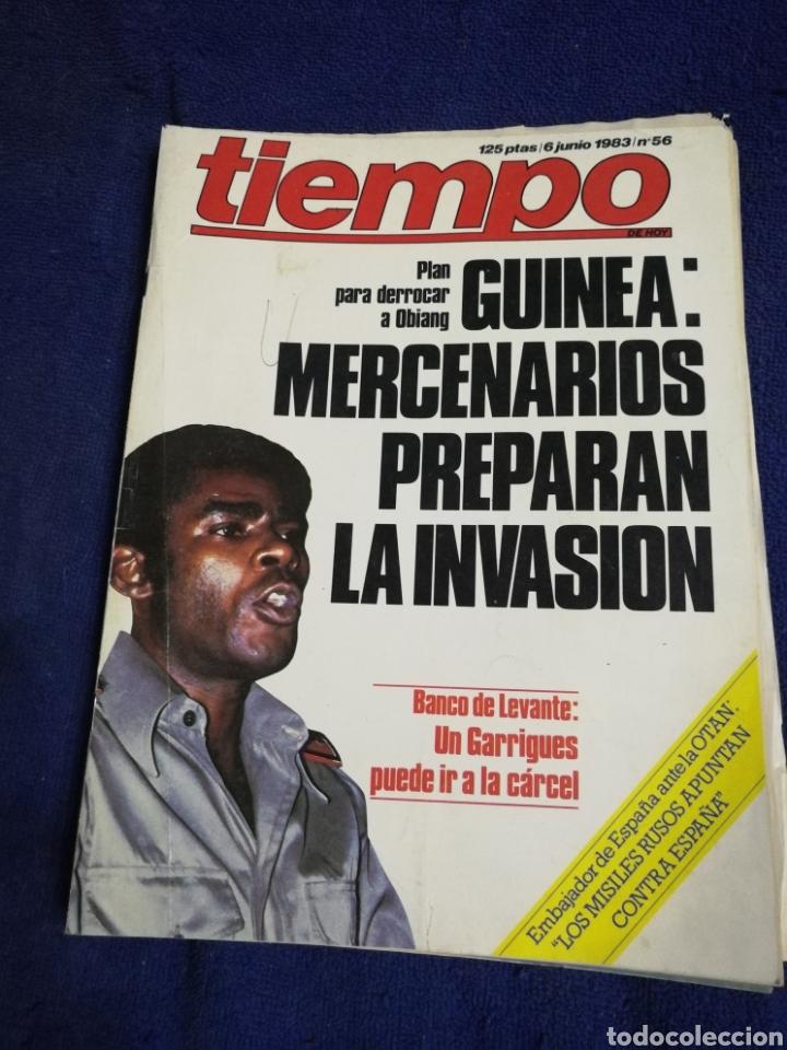 TIEMPO. NUMERO 56. MERCENARIOS (Coleccionismo - Revistas y Periódicos Modernos (a partir de 1.940) - Revista Tiempo)