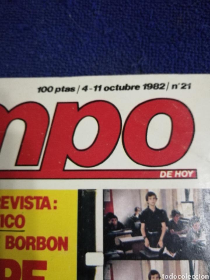 Coleccionismo de Revista Tiempo: Revista tiempo. Numero 21 - Foto 2 - 257395565