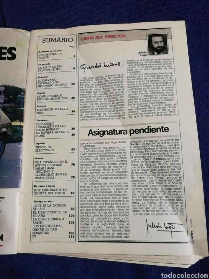 Coleccionismo de Revista Tiempo: Revista tiempo. Numero 21 - Foto 4 - 257395565