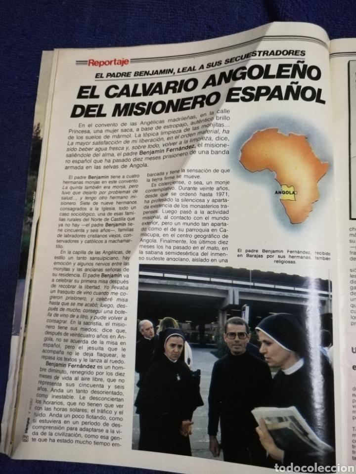 Coleccionismo de Revista Tiempo: Revista tiempo. Numero 21 - Foto 6 - 257395565