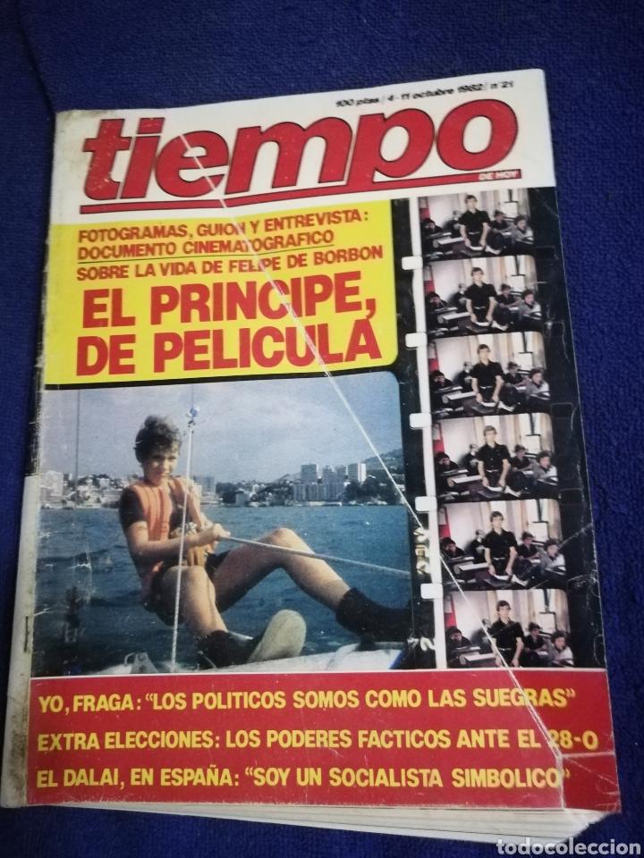 REVISTA TIEMPO. NUMERO 21 (Coleccionismo - Revistas y Periódicos Modernos (a partir de 1.940) - Revista Tiempo)