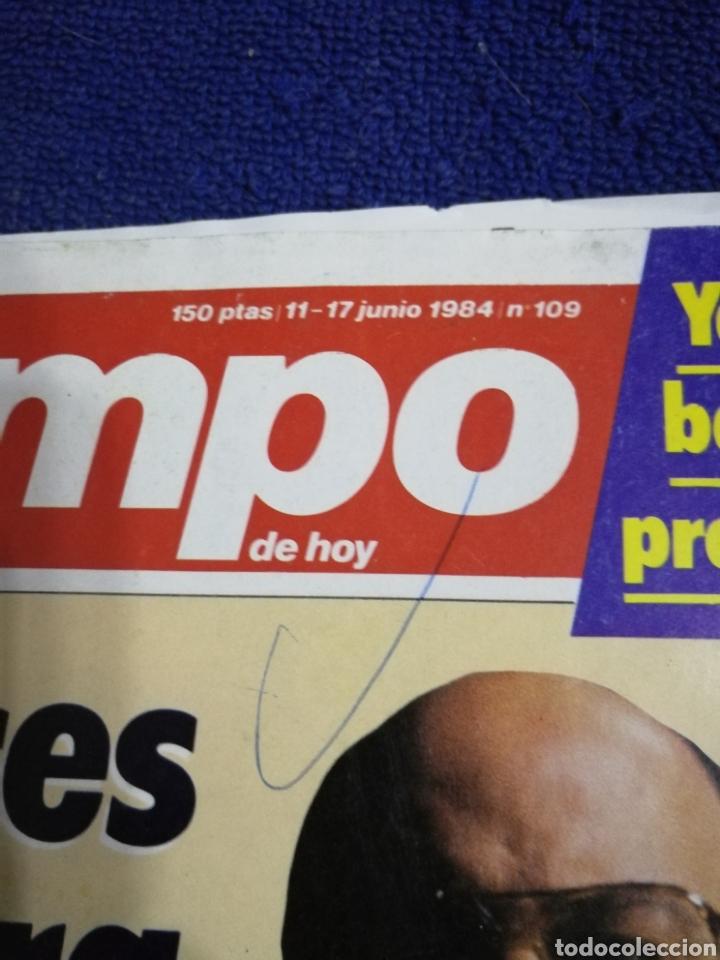 Coleccionismo de Revista Tiempo: Revista tiempo. Numero 109 - Foto 2 - 257450450