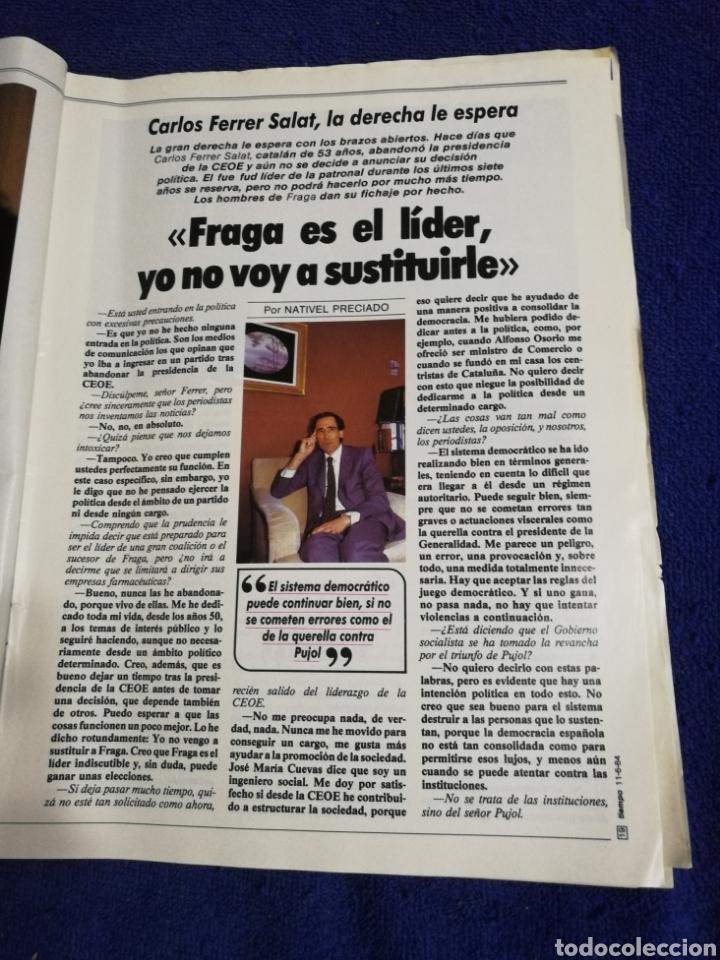 Coleccionismo de Revista Tiempo: Revista tiempo. Numero 109 - Foto 4 - 257450450