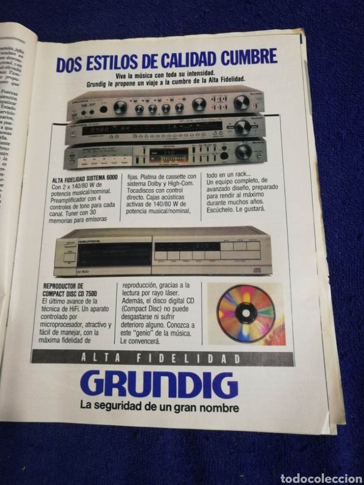 Coleccionismo de Revista Tiempo: Revista tiempo. Numero 109 - Foto 5 - 257450450