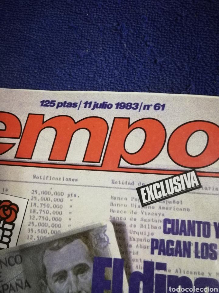 Coleccionismo de Revista Tiempo: Revista tiempo. Numeron 61 - Foto 2 - 257452020