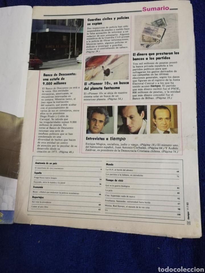Coleccionismo de Revista Tiempo: Revista tiempo. Numeron 61 - Foto 4 - 257452020