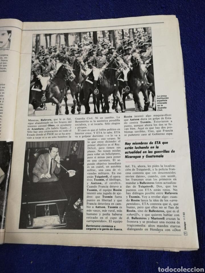 Coleccionismo de Revista Tiempo: Revista tiempo. Numeron 61 - Foto 5 - 257452020