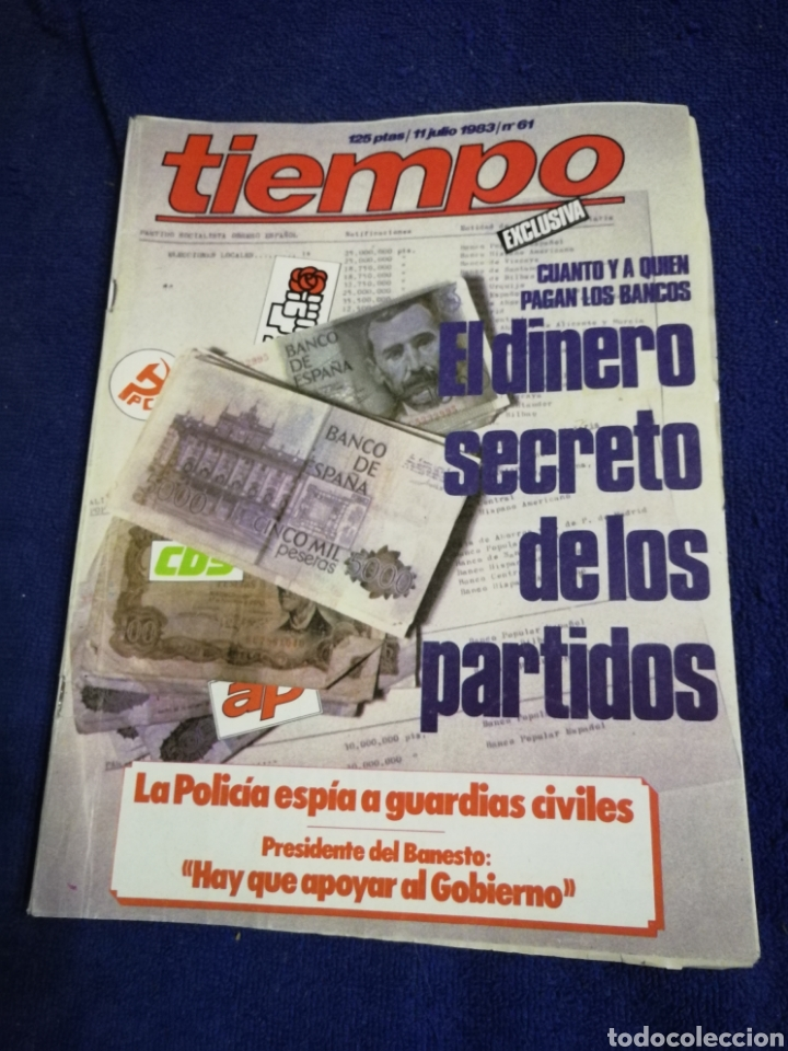 REVISTA TIEMPO. NUMERON 61 (Coleccionismo - Revistas y Periódicos Modernos (a partir de 1.940) - Revista Tiempo)