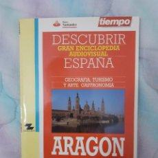 Coleccionismo de Revista Tiempo: DESCUBRIR ESPAÑA - ARAGÓN. Lote 261302415
