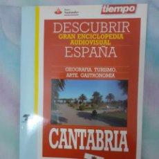 Coleccionismo de Revista Tiempo: DESCUBRIR ESPAÑA - CANTABRIA. Lote 261302575