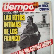 Colecionismo da Revista Tiempo: REVISTA TIEMPO 151 FRANCISCO FRANCO BARÇA AVIADOR DRO RAFAEL DE PAULA ALFREDO KRAUS PUNKIS KENNEDY. Lote 263018685