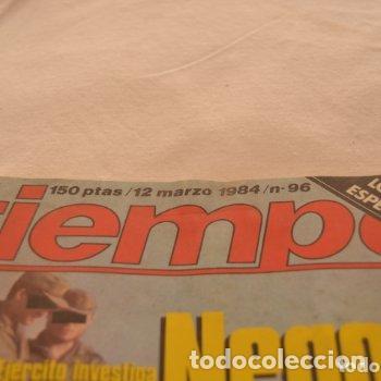 Coleccionismo de Revista Tiempo: REVISTA TIEMPO AÑOS 80 #62# - Foto 2 - 275138803