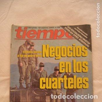 REVISTA TIEMPO AÑOS 80 #62# (Coleccionismo - Revistas y Periódicos Modernos (a partir de 1.940) - Revista Tiempo)