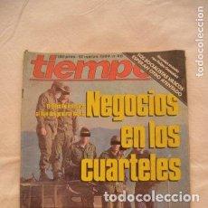 Coleccionismo de Revista Tiempo: REVISTA TIEMPO AÑOS 80 #62#. Lote 275138803