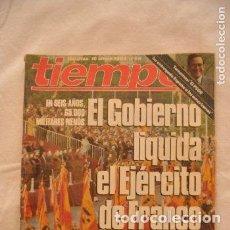 Coleccionismo de Revista Tiempo: REVISTA TIEMPO AÑOS 80 #61#. Lote 275139123