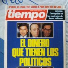 Coleccionismo de Revista Tiempo: REVISTA TIEMPO. Lote 276123043