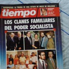 Coleccionismo de Revista Tiempo: REVISTA TIEMPO NUM.242. Lote 276123428