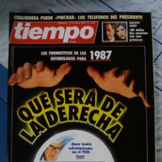Coleccionismo de Revista Tiempo: REVISTA TIEMPO. Lote 276123608