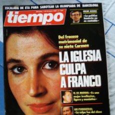 Coleccionismo de Revista Tiempo: REVISTA TIEMPO. Lote 276123788