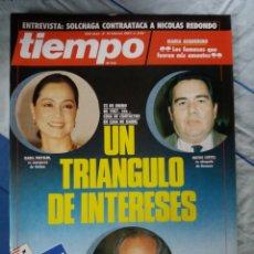 Coleccionismo de Revista Tiempo: REVISTA TIEMPO. Lote 276124528