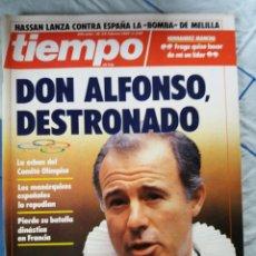 Coleccionismo de Revista Tiempo: REVISTA TIEMPO. Lote 276124703